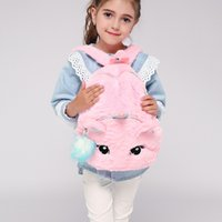 Wholesale animal printed bags for sale - Group buy 201910 Colors Unicorn Plush Backpack Children Backpacks Kids Small Bag Girl Cute Animal Prints Travel Bags Toys Gifts Baby Schoolbag M791F