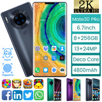 Wholesale 3g tv mobile phone for sale - Group buy M30 Android G G Smartphone quot fingerprint Face Unlocked Mobile Smart Phones G G Dual SIM Mobilephones Telephone Wifi