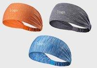 analık baş bantları toptan satış-Spor bandı yoga bandı çabuk kuruyan elastik bandı analık spor saç bandı spor dışarı çalışan spor eşarp için spor