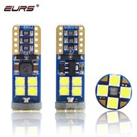 Wholesale led wedge bulbs 3w for sale - Group buy EURS T10 Led SMD T10 Bulb W5W Car Led Canbus Error Free License Plate Side Wedge Reading lights V White Red