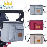 Wholesale baby diapers for cotton for sale - Group buy Diaper Stuff Nappy Stroller Organizer Baby For Mom Travel Hanging Carriage Pram Buggy Cart Bottle Bag Y200107