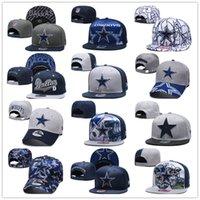 ingrosso giorno cappelli-Berretto da rugby da calcio con ricamo 3D Dallas 2019 Festa della mamma 9FORTY Cappello da cowboy regolabile Cappello sportivo per il tempo libero