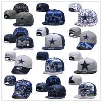 gorras 3d al por mayor-Bordado 3D Dallas Football Rugby Cap 2019 Día de la Madre 9FORTY Sombrero de vaquero ajustable Gorra de deporte de ocio