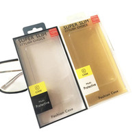 leeres einzelhandelspaket großhandel-Universal-PVC-Plastik-leerer Kleinpaket-Kasten, der Einsatz-Karten-Papier für 5,5 Zoll iPhone XS MAX XR X 8 7 6 plus Fall Samsung S9 S10 verpackt