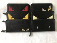Wholesale mens wallet cell phone holder for sale - Group buy Man long wallet men s cartoon wallet leather purse designer wallet card holder Fashion mens designer purse Couple wallets cm cm cm