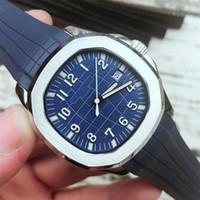 Wholesale original rubber resale online - 2019 Wristwatches Aquanaut Automatic Movement Stainless Steels Comfortable Rubber Strap Original Clasp Mens Watch Luxury Watches BDFL