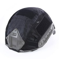Wholesale wargame paintball resale online - Tactical Helmet Cover Paintball Wargame Gear Helmet Cover for Head Circumference cm Sports Helmets