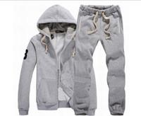 ingrosso set completo di joggers-Designer Tuta Uomini vestiti di sudore autunno Mens Tute Jogger Suits Jacket + ansima gli insiemi Sporting Suit Stampa
