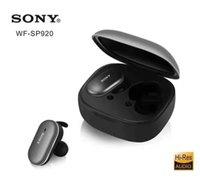 ingrosso cuffia avricolare dell'orecchio del bluetooth-Wireless Headset Bluetooth SONY WF-SP920 Auto Auricolare Bluetooth doppio Ear Sport In-Ear