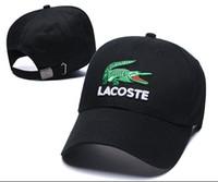 хип-хоп мода бейсбол оптовых-Новая Мода кость Открытый Snapback Caps Strapback Бейсболка Открытый Спорт Дизайнер Хип-Хоп Спортивные Шапки Мужчины Женщины Крокодил Шляпа casquette