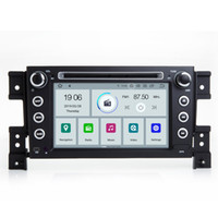 Wholesale video systems for cars online - COIKA quot Android System Car DVD Multimedia Player Radio For Suzuki Grand Vitara GPS Navi Quad Core WIFI Google BT USB