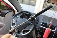 fechaduras de roda de carro anti roubo venda por atacado-Direção do carro Bloqueio da Roda Universal Anti-roubo e Auto-resgate Janela Ferramenta Quebrada Material de Aço Inoxidável Segurança Auto Bloqueio Frete Grátis
