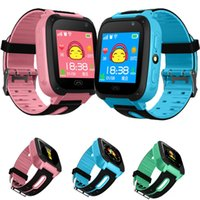 Wholesale best trackers for kids online – Smart Watch For Kids Q9 Children Anti lost Smart Watches Smartwatch LBS Tracker Watchs SOS Call For Android IOS Best Gift For Kids