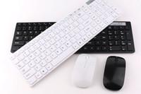 ingrosso gioco di tastiere del calcolatore-Tastiera senza fili ultra sottile di alta qualità Mouse tastiera 2.4G Mouse Computer Accessori ireless 2.4ghz per Office Computer portatile da gioco