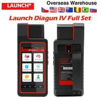 cabo do leitor de código automático venda por atacado-Lançamento X431 Diagun IV com Wifi Auto OBD2 Ferramenta de diagnóstico X431 diagun 4 set cheio com cabos Code Reader melhor do que easydiag