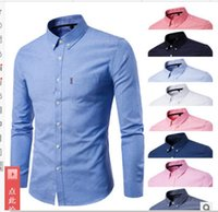 14e8e4d8f6c 2019 HOT SELL new M-5XL Men s casual shirts long-sleeved polos jackets  coats singer Hair Stylist Stage costume Nightclub 9 colour