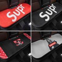 marca de seda de hielo al por mayor-coche suministros SUP marca de marea de seda de hielo almohadilla del asiento transpirable cuatro estaciones cojín del asiento trasero de coche universal