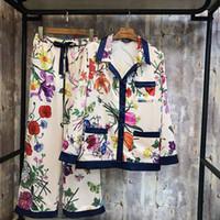 sexy schlafanzüge groihandel-Womens Silk Satin Pyjamas Pyjamas Set Riemchen ärmellose Nachtwäsche Pyjama Pyjamas Anzug weiblichen Schlaf zweiteilige Set Loungewear