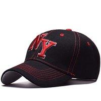 нью-йоркские шляпы оптовых-Нью-Йорк Нью-Йорк логотип Snapback бейсболки папа Cap Оптовая мода snapbacks уличный дизайнер шляпы модные 2018 Спортивные бейсболки шапка