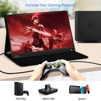 Wholesale usb dual monitor resale online - Monitor USB Type C Full HD IPS USB C Portable Monitor Built in Dual Speakers Compatible with Laptop Computer Portable