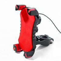 suporte para bicicleta venda por atacado-Bicicleta Universal Suporte Do Telefone Móvel Ao Ar Livre Da Motocicleta Guiador Brace Handle Phone Support Para 3.5-6.5 polegada Móvel # 265799