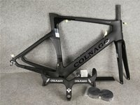Wholesale colnago carbon road bike frames for sale - Group buy black Colnago handlebar Black Colnago Carbon Road bike Frame full carbon fiber bicycle frame BB386