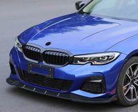 Wholesale bmw lip for sale - Group buy For BMW Serise G20 G28 Front Lip Splitter set Plastic Unpainted