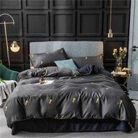 juegos de cama de doble tamaño caballo al por mayor-3/4 piezas en Twin Queen King size Ultra hoja de cama de la cubierta suave edredón Set almohada fundas de caballo de color brillante impreso el sistema del lecho de la cama fijó