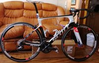 bisiklet grubu seti toptan satış-2019 Folyo Karbon komple Yol Bisikleti Tam Karbon Yol Bisikleti Bisiklet Groupset tekerlek karbon gidon Ile