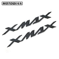 protetores de tanque de motocicleta venda por atacado-Para Yamaha X-MAX XMAX125 / 250/400/300/300/500 Tanque de petróleo Fibra Pad carbono Protector 3D Adesivos Tanque decalques Motos Acessórios