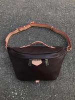bolsa de cintura de marca al por mayor-Bolso de cintura de las mujeres marca de fábrica famosa bolsa de cinturón mujeres fanny pack diseñador mujeres paquete de la cintura bolsa pequeña graffiti vientre bolsas nuevo estilo 86658