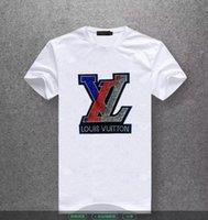 etiquetas de tamanhos venda por atacado-2019mens designer de camisetas de alta qualidade de impressão é muito cabeça perfeita lá etiqueta Medusa T-shirt Dos Homens da Ásia tamanho Q1885