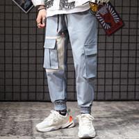 ingrosso piede giapponese-Pantaloni di puro cotone di marca giapponese Pantalone Chaozhou Pantalone da uomo di grandi dimensioni Workwear e pantaloni sportivi da uomo di design per il tempo libero