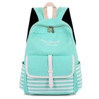 корейский стиль рюкзак оптовых-Мода школа рюкзаки для девочек-подростков холст женщины ноутбук Back Pack женский милый Япония и корейский стиль рюкзак дорожные сумки #193280