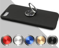 Wholesale Universal Mobile phone bracket metal circular finger ring bracket with sloth and anti wrestling finger ring for mobile phone