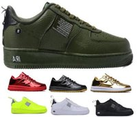 ingrosso rosso lunare-Men 1 One LF1 Forceing Scarpe casual Sneakers 2019 Red Women Lunar Forced Utility DuckBoot Skateboard Low Skate Uomo Chaussure Classic Scarpe