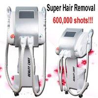 ipl depilação filtro venda por atacado-Optar a remoção do cabelo ipl shr máquina de remoção de cabelo 7 filtros total de 600.000 tiros máquina IPL para salão de beleza