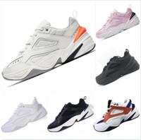 esportes ao ar livre do transporte livre venda por atacado-2019 Nike M2K Tekno Vovô Execução de Tênis Para Homens Mulheres Sneakers Athletic Trainers Sapatos de Esportes Ao Ar Livre Profissional Frete Grátis