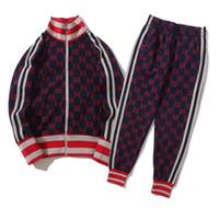 hochwertige trainingsanzüge großhandel-Hochwertiges Wimen Herren Set Einfache Jacke und Hose Designer Trainingsanzüge