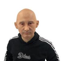 ingrosso maschera di faccia del partito di celebrità-2019 Favoloso Realistico Costume Cosplay Party Halloween Silicone Celebrità umana Presidente Vladimir Putin Maschera