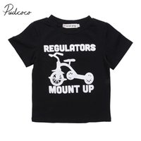 Wholesale baby girl cool clothes resale online - 2017 Brand New Toddler Infant Kids Baby Boys Girls Child Cotton Short Sleeve T shirt Tops Tee Outfit Casual Cool Clothes
