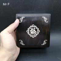 Wholesale chinese toy puzzle resale online - About cm Sandalwood Box Inlaid Silver Chinese Characteristics quot Blessing quot Treasure Box Wood Puzzle Toy