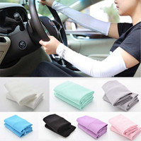 Cooling Arm Sleeves Cover UV Sun Protection Golf Bike Outdoor Sports Riding Cycling UV Protection Sleeves Arm Warmer 2pcs pair