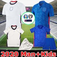 Wholesale england football soccer jersey for sale - Group buy New Thailand England soccer jersey Euro cup jersey KANE STERLING RASHFORD national teams football shirts men kids kit uniforms