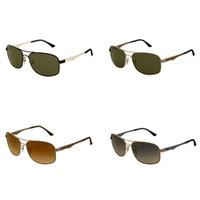 Wholesale sunglasses brands names resale online - Square Sunglasses Classic Designer Bike Riding Eyewear New Eyeglasses Name Brand Prescription Sun glasses Gold Metal Bicycle Goggles