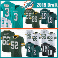 949c238b4ae Wholesale packers jerseys for sale - Miami Josh Rosen Jersey Dolphins Green  Bays Rashan Gary Packers