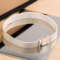 ingrosso gioielli popolari della corea del sud-arrivo argento 925 Reflexions bracciale scatola originale per bracciali a catena Pandora nuova mano per le donne Mens