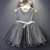 ingrosso vendita di abiti da sposa sveglia-2019 vendita calda nuovo carino vestido infantil ragazze abiti per il partito e la cerimonia nuziale del bambino bambini baby princess dress pageant tulle tutu