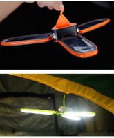 ingrosso lanterna ha portato 12v-Batteria ricaricabile da esterno a LED a lanterna per tenda da campeggio a LED solare da 18 lt Batteria ricaricabile da 100 lm ideale per campeggio, escursionismo, trekking