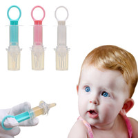 schnullerarten großhandel-Spritze Typ Fütterung Feeder Baby Nippel Fütterung Safe Baby Supplies Nippel Sauger Schnuller Flaschen